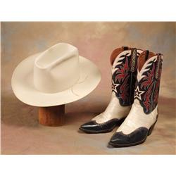 Gene Autry Stetson and Boots