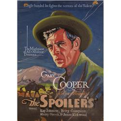 Original Gary Cooper Movie Poster Art