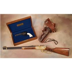 Gene Autry Lot including Commemorative Colt SA and Winchester