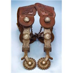 Garcia (Reno) inlaid Spurs