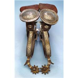 19th C California Spurs