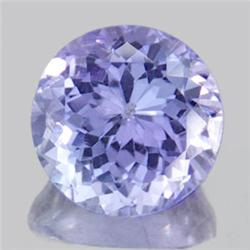 2.5mm Diamond Cut Purple Blue Tanzanite A Block RARE VVS1  EST: $200 - $1000 (GMR-0228)
