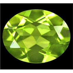 1.83ct   Attractive Natural Green Peridot Unheated Gem VVS (GEM-10016)