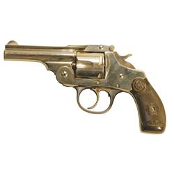 Iver Johnson .38 S&W cal. Double action 5 shot revolver