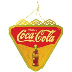 Coca Cola Kay Display Triangle Advertising Sign
