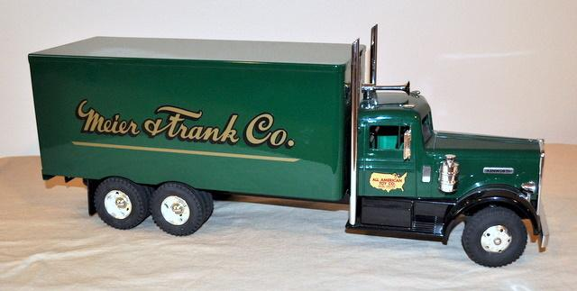 Custom Toy Semi Trucks : Custom all american toy co kenworth quot meier frank