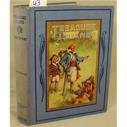 1924  TREASURE ISLAND  HARDCOVER BOOK - By Robert
