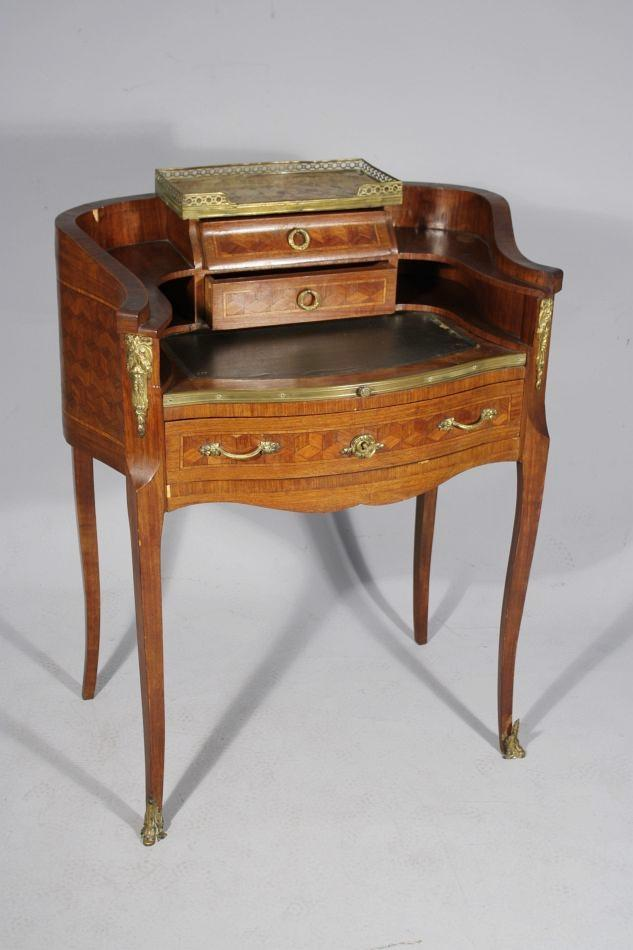 A french transitional louis xv xvi style bureau de dame for Bureau louis xv