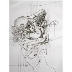 HANS BELLMER 5 Sig.Etchings French