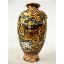 19th c. Satsuma vase  Thousand Faces
