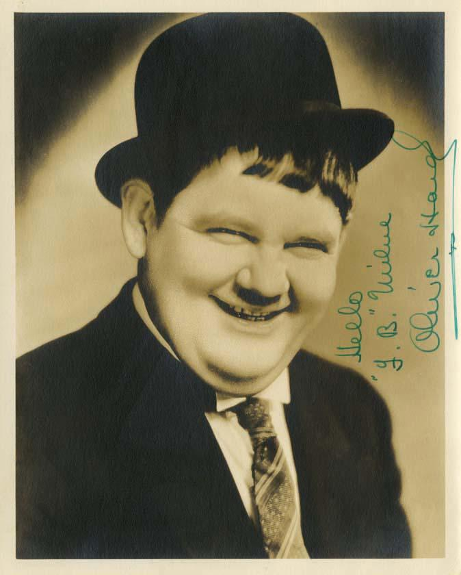 Oliver Hardy Tie Stan Laurel and...