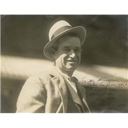 Will Rogers signed portrait