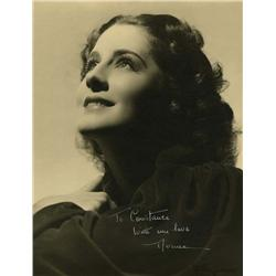Norma Shearer oversize portrait by George Hurrell signed