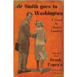 Mr. Smith Goes to Washington signed by Jimmy Stewart, Frank Capra and others