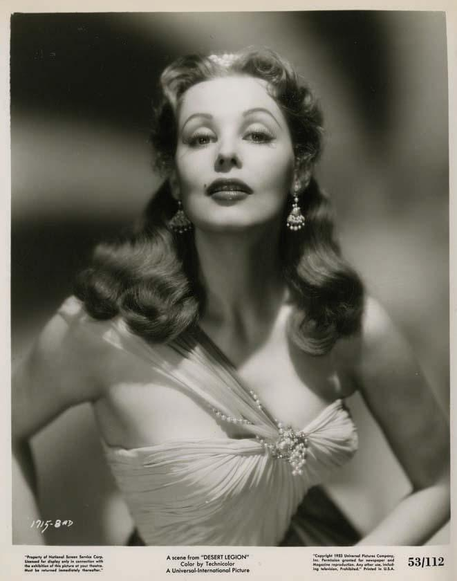 Arlene dahl wedding