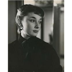 Audrey Hepburn portraits from Roman Holiday, Love in the Afternoon, Funny Face and Green Mansions