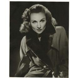 Carole Lombard oversize gallery portrait from To Be or Not to Be by Robert Coburn