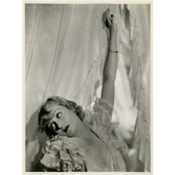Carole Lombard oversize gallery portrait from Now and Forever by Eugene Robert Richee
