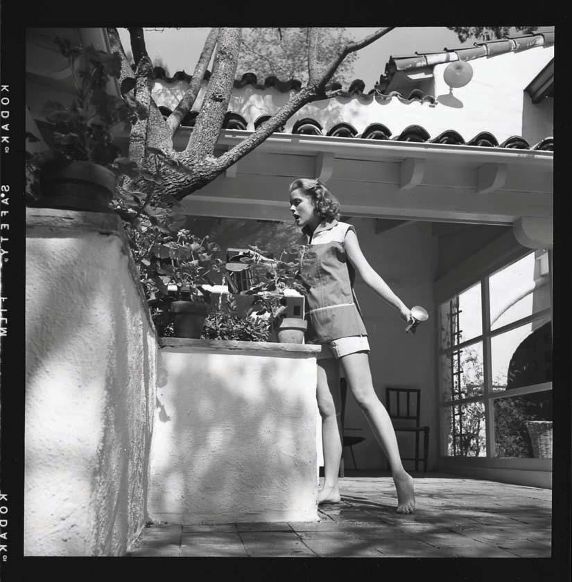 Grace kelly black and white camera negatives and proof prints from rear window by bud fraker