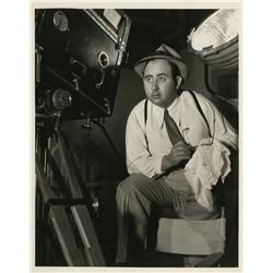 Photographs of directors and behind the scenes in Hollywood: Norman Taurog, Irving Berlin & others