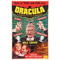 Dracula one-sheet poster