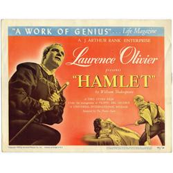 Set of lobby cards for Hamlet