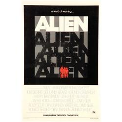 Alien advance one-sheet poster