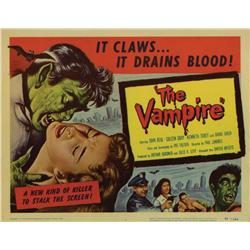 El Vampiro [The Vampire] title card