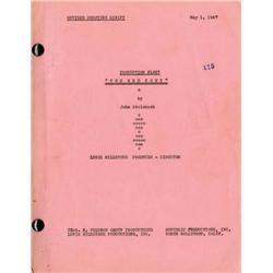 The Red Pony shooting script including archive of production material from John Steinbeck's agent