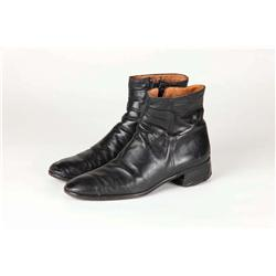 "DeForest Kelly ""Dr. McCoy"" Starfleet leather short boots from the early Star Trek feature films"