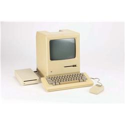 Early Production Apple Macintosh 128 computer given to Gene Roddenberry by Apple Computer