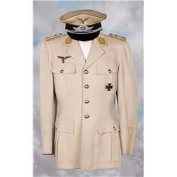George Sanders German military uniform coat and hat from Man Hunt