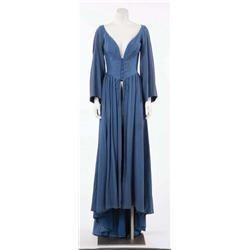 Maureen O'Hara blue overdress from Lady Godiva of Coventry