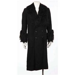 Jack Lemmon black fur-trimmed overcoat from The Great Race