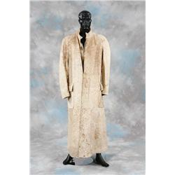 Bill Campbell cow hide coat from Bram Stoker's Dracula