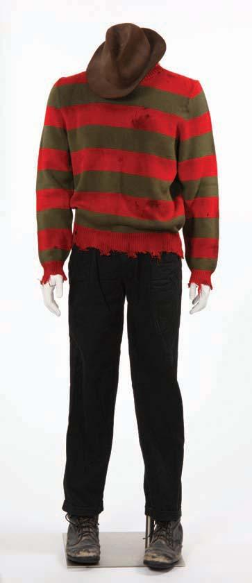 Robert Englund Complete Freddy Kreuger Costume From A Nightmare On
