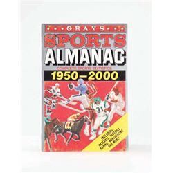 Original prop Grays Sports Almanac from Back to the Future II