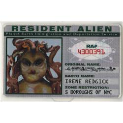 Alien identification badges from Men in Black