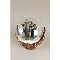 "Uma Thurman ""Poison Ivy"" screen-used Gotham City snowglobe from Batman & Robin"