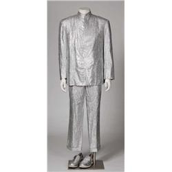"Mike Myers ""Dr. Evil"" silver suit from Austin Powers: The Spy Who Shagged Me"