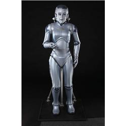 Female android airline stewardess costume from Bicentennial Man