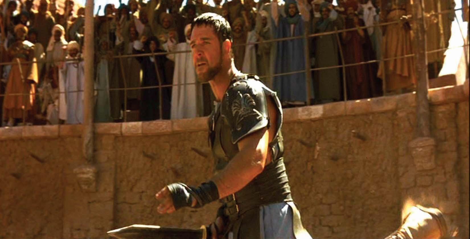gladiator movie review essay Masterful but really violent oscar winner read common sense media's gladiator review, age rating, and parents guide.