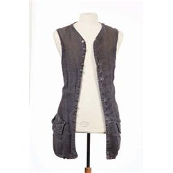 "Johnny Depp signature ""Jack Sparrow"" vest from Pirates of the Caribbean: Curse of the Black Pearl"