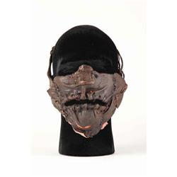 "Andrew Bryniarski ""Leatherface"" hero mask from The Texas Chainsaw Massacre: The Beginning"