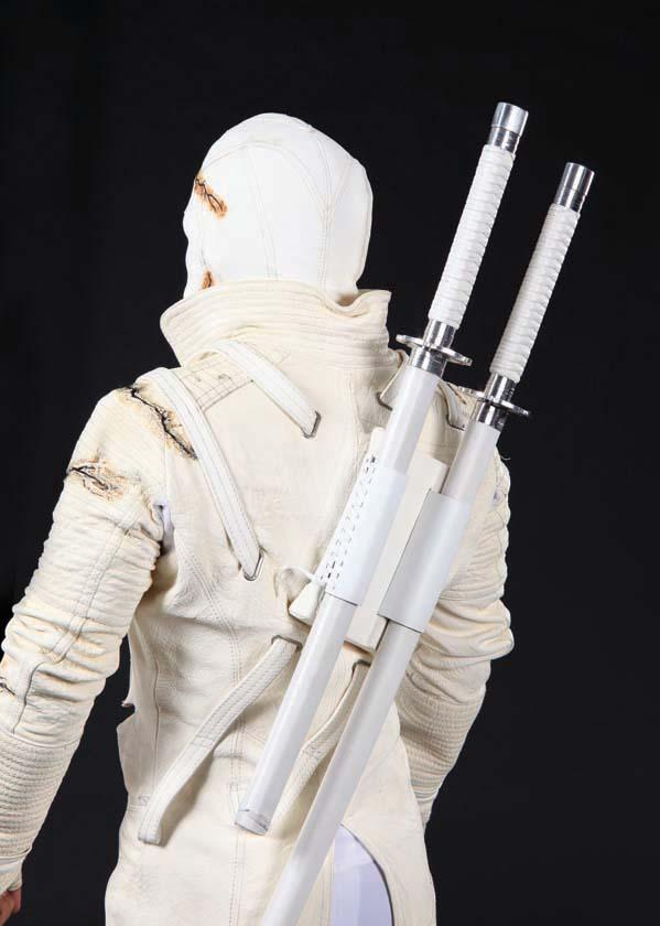 Image 1  Storm Shadow combat costume with 2 hero katana fighting swords from G.I. Joe ... & Storm Shadow combat costume with 2 hero katana fighting swords from ...