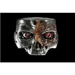 "Screen-used ""close-up"" T-800 Terminator endo eyes in skull assembly from Terminator 2: Judgment Day"