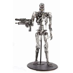 Original hero screen-used T-800 endoskeleton from T2 3-D: Battle Across Time