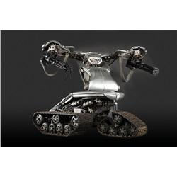 Screen-used T-1 battle-ready armored drone from Terminator 3: Rise of the Machines