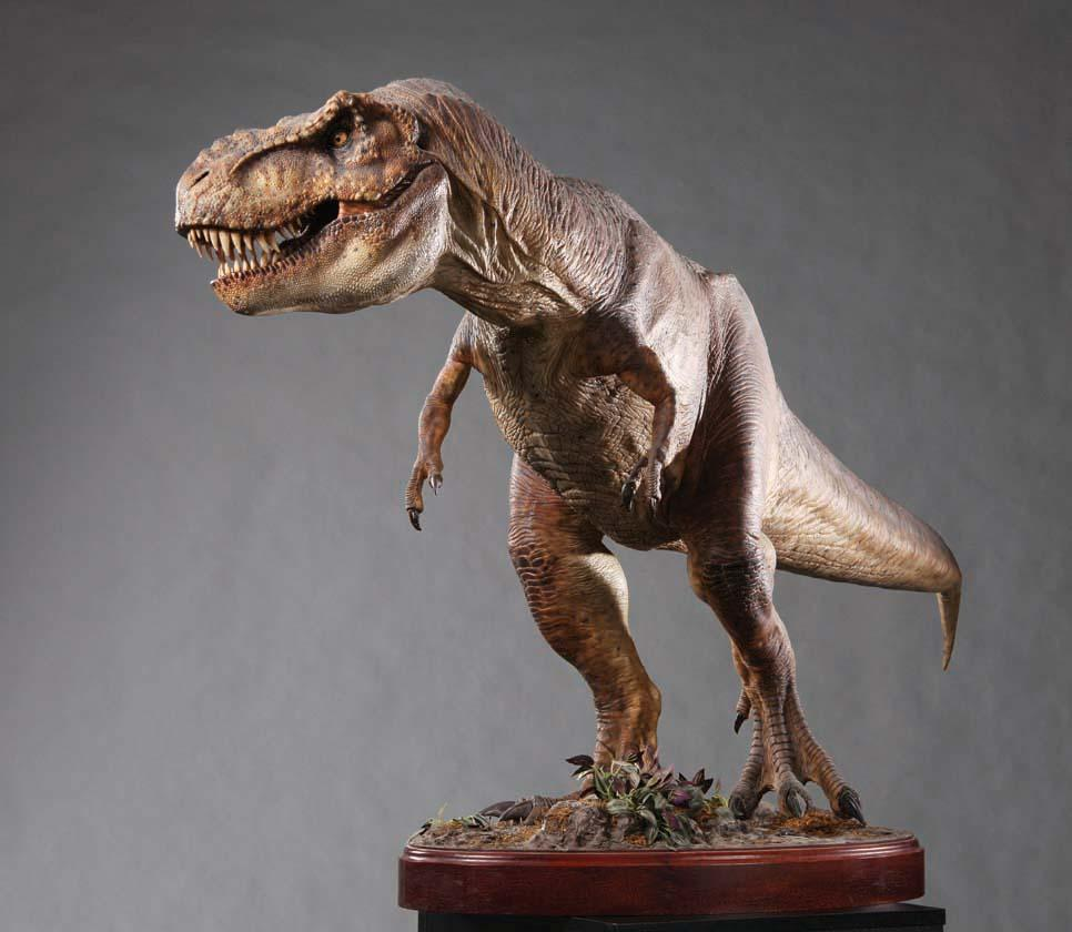 T-Rex maquette from Jurassic Park