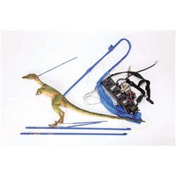 Pair of screen-used Compsognathus (Compy) puppets from The Lost World: Jurassic Park 2